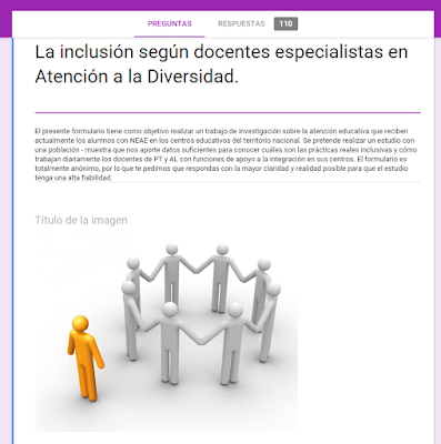 formulario de inclusión