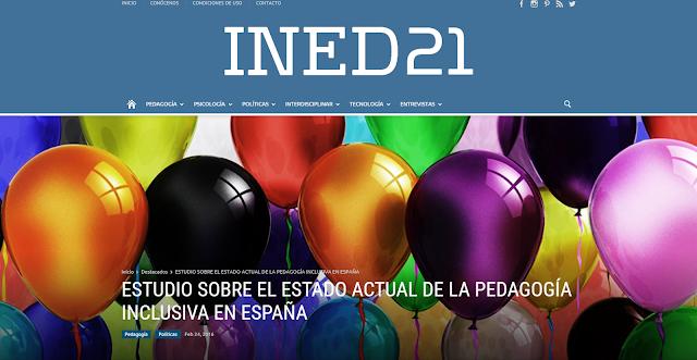 imagen en la que se muetran globos y se ve el título sobre inclusión