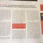 Belén Jurado en Revista Graó